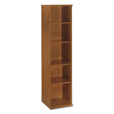 Bush Series C Collection 18W 5 Shelf Bookcase, Natural Cherry (WC72412)