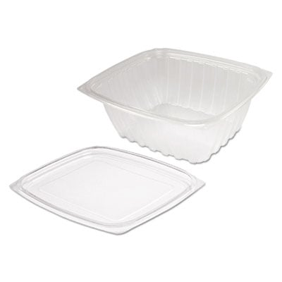 Dart ClearPac Clear Container Lid Combo-Pack, 6 1/2 x 7 1/2 x 2.7, 63/Pack, 4 Pk/Ctn (C32DCPR)