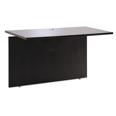 Alera Sedina Series Reversible Return/Bridge, 42w x 23 5/8d x 29 1/2h, Espresso (ALESE234224ES)