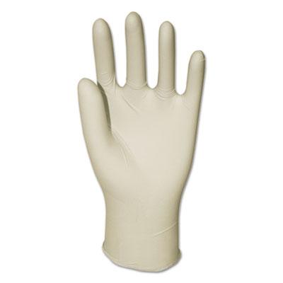 Latex General-Purpose Gloves, Powder-Free, Natural, Large, 4.4 mil, 1000/Carton (8971LCT)