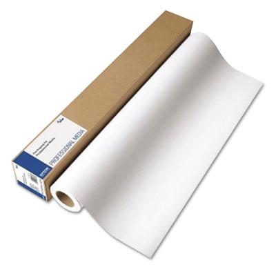 "Epson Exhibition Fiber Paper Roll, 12 mil, 17"" x 50 ft, Glossy White (S045188)"