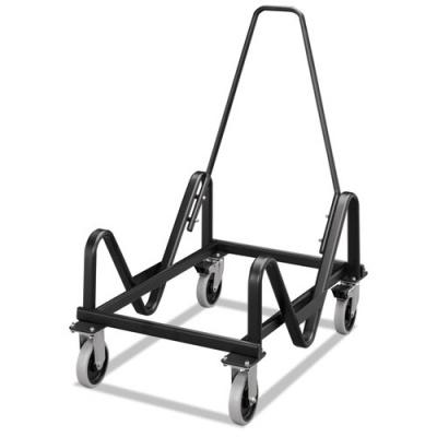 HON GuestStacker Cart, 21.38w x 35.5d x 37.88h, Black (H4033.T)