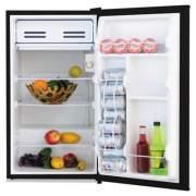 Alera 3.2 Cu. Ft. Refrigerator with Chiller Compartment, Black (RF333B)