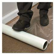 ES Robbins Roll Guard Temporary Floor Protection Film for Carpet, 36 x 2,400, Clear (110024)