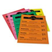 Pacon Array Card Stock, 65lb, 8.5 x 11, Assorted Bright Colors, 50/Pack (101160)