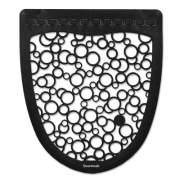 Boardwalk Urinal Mat 2.0, Rubber, 17.5 x 20, Black/White, 6/Carton (BWKUMBW)