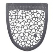 Boardwalk Urinal Mat 2.0, Rubber, 17.5 x 20, Gray/White, 6/Carton (BWKUMGW)
