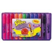 Mr. Sketch Scented Gel Crayons, Assorted, 12/Pack (1951333)