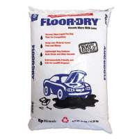 Floor-Dry DE Premium Oil Absorbent, Diatomaceous Earth, 25lb Poly Bag (M9825)