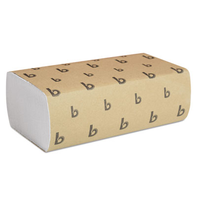 Boardwalk Multifold Paper Towels, White, 9 x 9 9/20, 250 Towels/Pack, 16 Packs/Carton (6200)