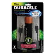 Duracell Portable Power Bank with Micro USB Cable, 2600 mAh, Red (PRO515)
