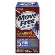 Move Free Advanced Plus MSM and Vitamin D3 Joint Health Tablet, 80 Count, 12/Carton (97007CT)