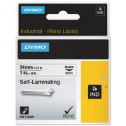 "DYMO Industrial Self-Laminating Labels, 1"" x 18 ft, White (1734821)"