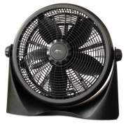 "Alera 16"" Super-Circulation 3-Speed Tilt Fan, Plastic, Black (FAN163)"