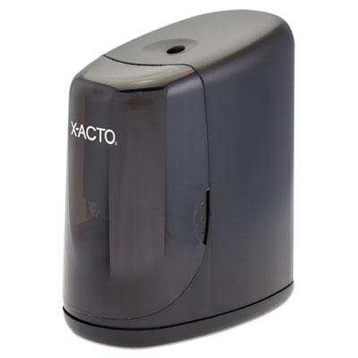 "X-ACTO Vortex Office Electric Pencil Sharpener, AC-Powered, 3"" x 6.25"" x 4.5"", Black (1730LMR)"