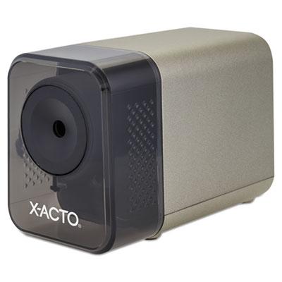 "X-ACTO XLR Office Electric Pencil Sharpener, AC-Powered, 3"" x 5.5"" x 4"", Putty (1800LMR)"