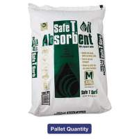 Safe T Sorb All-Purpose Clay Absorbent, 40lb, Poly-Bag, 50/Pallet (MOL 7941)