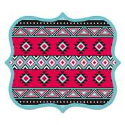 Fellowes Designer Mouse Pads, Tribal Print, 9 x 8 x 3/16 (5919101)