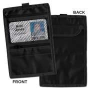 Advantus Travel ID/Document Holder, Hold 4 1/4 x 2 1/4 Cards, Black Nylon, 5/Pack (76345)