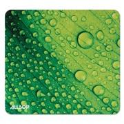 Allsop Naturesmart Mouse Pad, Leaf Raindrop, 8 1/2 x 8 x 1/10 (31624)