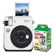 Fujifilm Instax Mini 70 Bundle, Auto Focus, White (600020069)