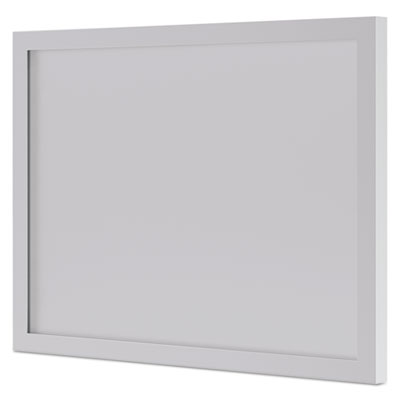 HON BL Series Frosted Glass Modesty Panel, 39.5w x 0.13d x 27.25h, Silver/Frosted (HBL72BFMODG)