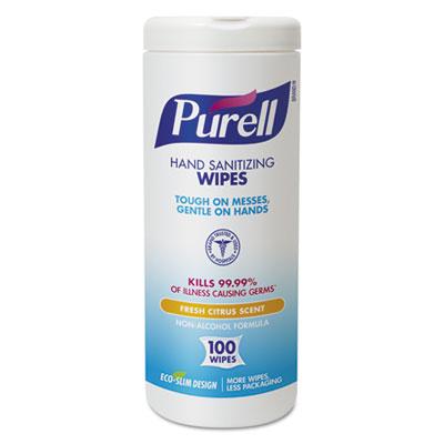 PURELL 911104ECCT Hand Sanitizing Wipes