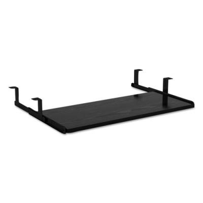Alera Valencia Series Underdesk Keyboard/Mouse Shelf, 28w x 12d, Black (ALEVA312812BK)
