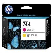 HP 744 (F9J87A) Magenta, Yellow Printhead