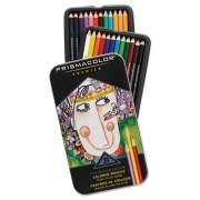 Prismacolor Premier Colored Pencil, 3 mm, 2B (#1), Assorted Lead/Barrel Colors, 24/Pack (3597THT)