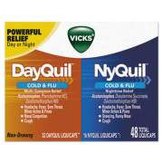Vicks 01452 DayQuil/NyQuil Cold & Flu LiquiCaps Combo Pack