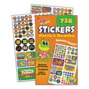 TREND Sticker Assortment Pack, Praise/Reward, 738 Stickers/Pad (T5011)