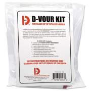 Big-D D'vour Clean-up Kit, Powder, All Inclusive Kit, 6/Carton (169)