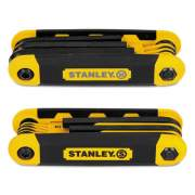 Stanley Folding Metric and SAE Hex Keys, 2/Pk (STHT71839)