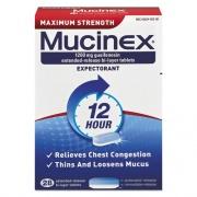 Mucinex Maximum Strength Expectorant, 28 Tablets/Box, 24 Boxes/Carton (02328CT)