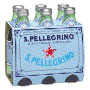 San Pellegrino Sparkling Natural Mineral Water, 8 oz Bottle, 24/Carton (12135004)