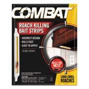 Combat Ant Bait Insecticide Strips, 0.35 oz, 5/Box, 12 Box/Carton (01000CT)