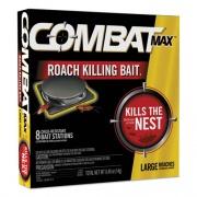 Combat Roach Bait Insecticide, 0.49 oz Bait, 8/Pack, 12 Pack/Carton (51913)