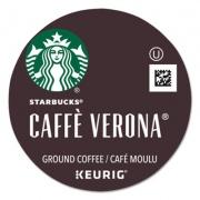Starbucks Caffe Verona Coffee K-Cups Pack, 24/Box, 4 Boxes/Carton (011067987CT)