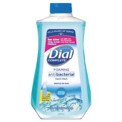 Dial Antibacterial Foaming Hand Wash, Spring Water Scent, 32 oz Bottle (09026EA)