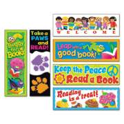 TREND Bookmark Combo Packs, Celebrate Reading Variety #1, 2w x 6h, 216/Pack (T12906)
