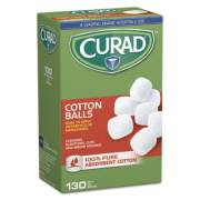 "Curad Sterile Cotton Balls, 1"", 130/Box (CUR110163)"