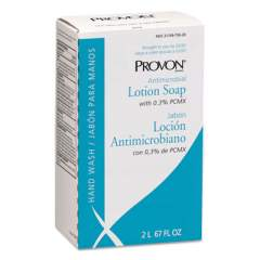 PROVON Antimicrobial Lotion Soap with Chloroxylenol, Citrus Scent, 2 L NXT Refill, 4/Carton (221804)