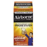 Airborne Immune Support Chewable Tablet, Citrus, 32 Count (20334)