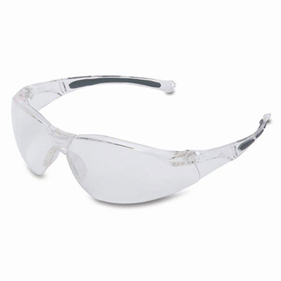 Black Frame UVEX by Honeywell 763-S3202 Genesis Safety Eyewear Ultra-Dura Anti-scratch Coating Pack of 10 Amber Lens