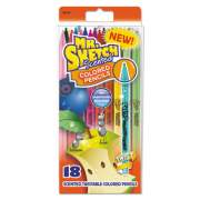 Mr. Sketch Scented Twistable Colored Pencils, Assorted Lead/Barrel Colors, 18/Pack (1951337)