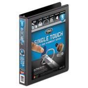 "Wilson Jones Ultra Duty D-Ring View Binder with Extra-Durable Hinge, 3 Rings, 1"" Capacity, 11 x 8.5, Black (86611)"