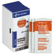 First Aid Only Refill for SmartCompliance Gen Cabinet, Antibiotic Ointment, 0.9g Packet, 20/Bx (FAE7040)
