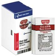First Aid Only Refill for SmartCompliance Gen Business Cabinet, Burn Cream, 0.9g Packets,20/BX (FAE7030)