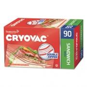 "Diversey Cryovac Sandwich Bags, 1.15 mil, 6.5"" x 5.88"", Clear, 1080/Carton (100946906)"